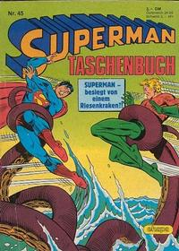 Cover Thumbnail for Superman Taschenbuch (Egmont Ehapa, 1976 series) #45