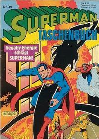 Cover Thumbnail for Superman Taschenbuch (Egmont Ehapa, 1976 series) #49