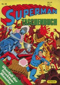 Cover Thumbnail for Superman Taschenbuch (Egmont Ehapa, 1976 series) #58