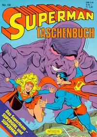 Cover Thumbnail for Superman Taschenbuch (Egmont Ehapa, 1976 series) #59