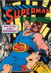 Cover Thumbnail for Superman Taschenbuch (Egmont Ehapa, 1976 series) #66
