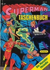 Cover Thumbnail for Superman Taschenbuch (Egmont Ehapa, 1976 series) #67