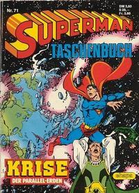 Cover Thumbnail for Superman Taschenbuch (Egmont Ehapa, 1976 series) #71