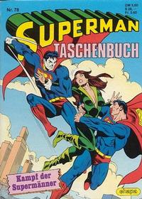 Cover Thumbnail for Superman Taschenbuch (Egmont Ehapa, 1976 series) #78