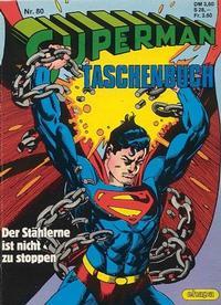 Cover Thumbnail for Superman Taschenbuch (Egmont Ehapa, 1976 series) #80