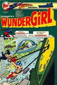 Cover Thumbnail for Wundergirl (Egmont Ehapa, 1976 series) #4