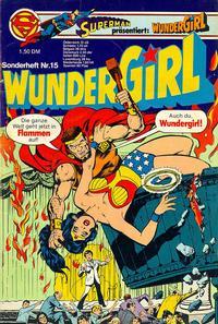 Cover Thumbnail for Wundergirl (Egmont Ehapa, 1976 series) #15