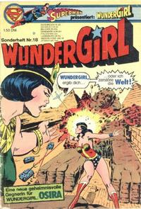 Cover Thumbnail for Wundergirl (Egmont Ehapa, 1976 series) #18