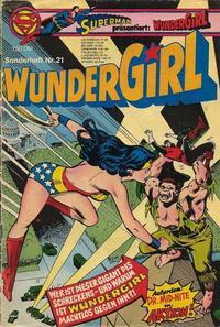 Cover Thumbnail for Wundergirl (Egmont Ehapa, 1976 series) #21