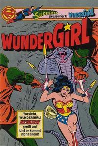 Cover Thumbnail for Wundergirl (Egmont Ehapa, 1976 series) #5/1981