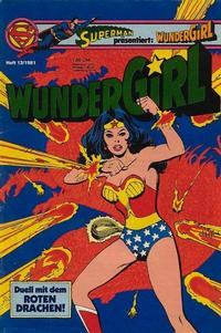 Cover Thumbnail for Wundergirl (Egmont Ehapa, 1976 series) #13/1981