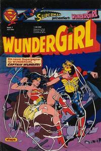 Cover Thumbnail for Wundergirl (Egmont Ehapa, 1976 series) #7/1982