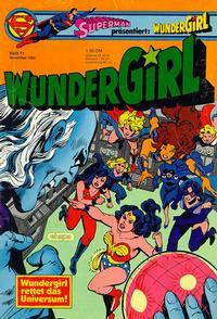 Cover Thumbnail for Wundergirl (Egmont Ehapa, 1976 series) #11/1982