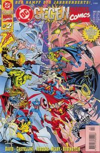 Cover Thumbnail for DC gegen Marvel Comics (Dino Verlag, 1996 series) #2