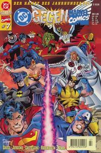 Cover Thumbnail for DC gegen Marvel Comics (Dino Verlag, 1996 series) #7