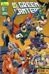 Cover Thumbnail for Green Lantern (Dino Verlag, 1999 series) #2