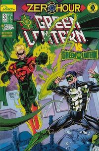 Cover Thumbnail for Green Lantern Die ersten Abenteuer (Dino Verlag, 1999 series) #3