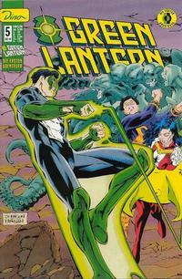 Cover for Green Lantern Die ersten Abenteuer (Dino Verlag, 1999 series) #5