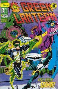 Cover Thumbnail for Green Lantern Die ersten Abenteuer (Dino Verlag, 1999 series) #6