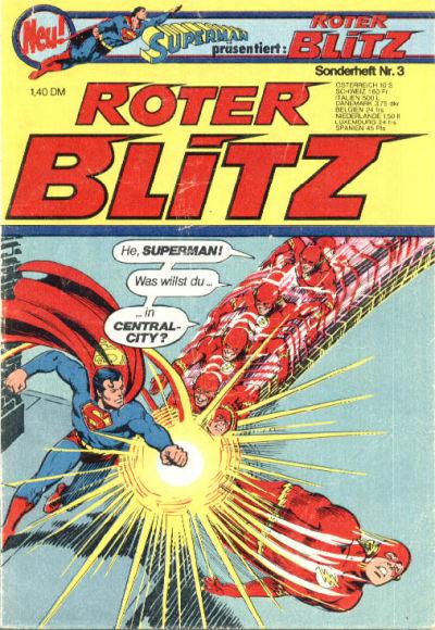 Cover for Roter Blitz (Egmont Ehapa, 1976 series) #3
