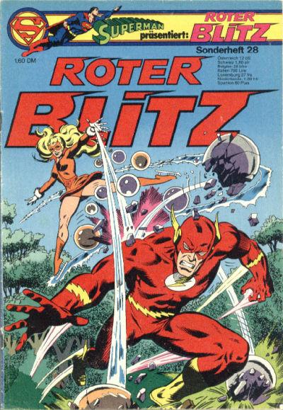 Cover for Roter Blitz (Egmont Ehapa, 1976 series) #28