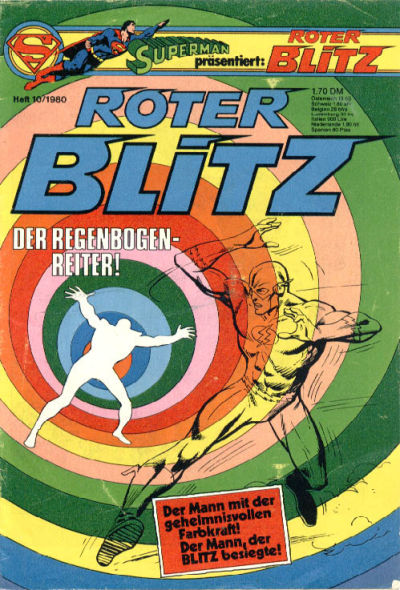 Cover for Roter Blitz (Egmont Ehapa, 1976 series) #10/1980