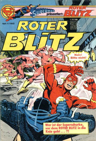 Cover for Roter Blitz (Egmont Ehapa, 1976 series) #11/1980
