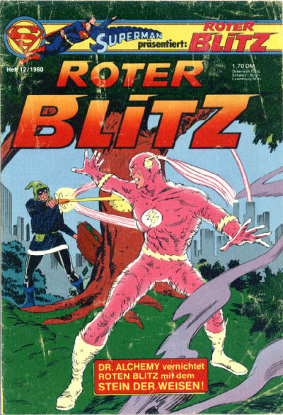 Cover for Roter Blitz (Egmont Ehapa, 1976 series) #12/1980