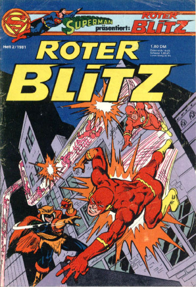 Cover for Roter Blitz (Egmont Ehapa, 1976 series) #2/1981