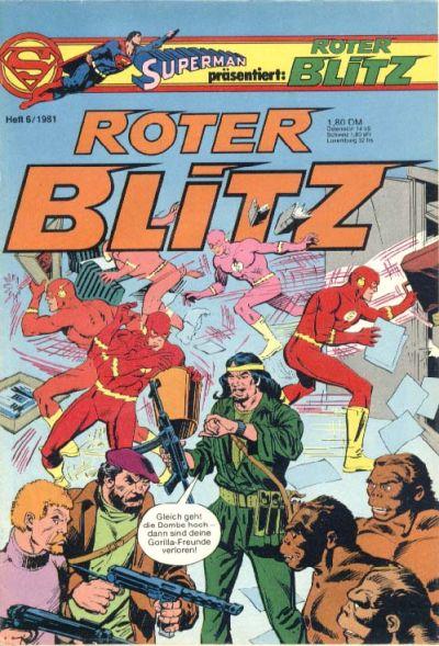 Cover for Roter Blitz (Egmont Ehapa, 1976 series) #6/1981