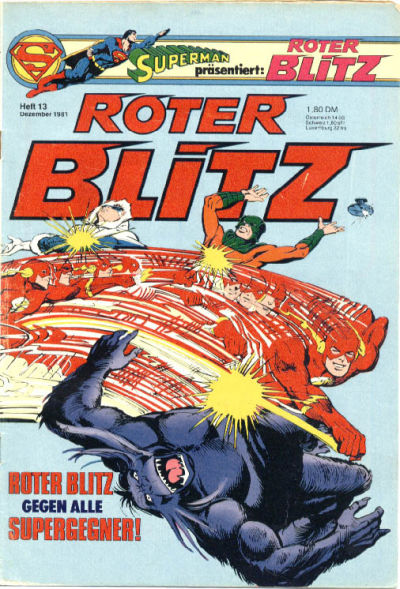Cover for Roter Blitz (Egmont Ehapa, 1976 series) #13/1981