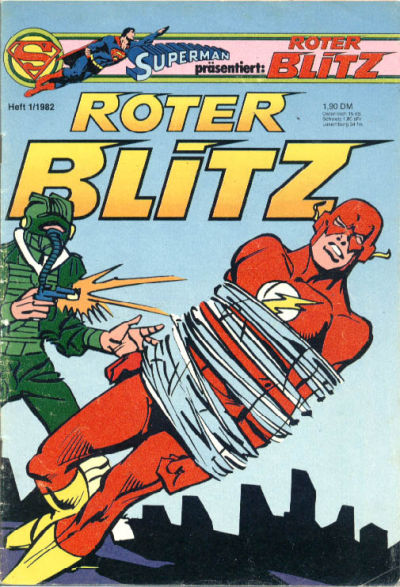 Cover for Roter Blitz (Egmont Ehapa, 1976 series) #1/1982