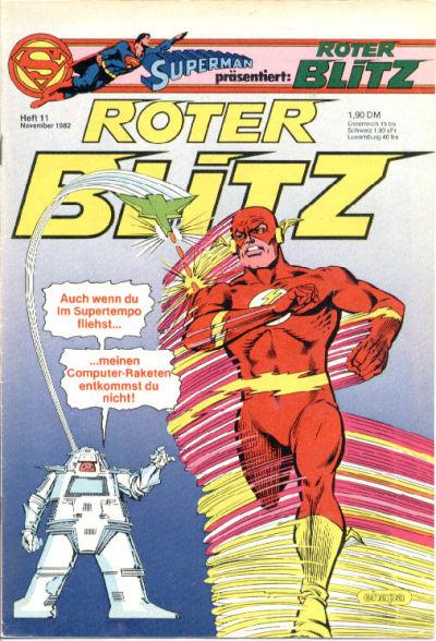 Cover for Roter Blitz (Egmont Ehapa, 1976 series) #11/1982