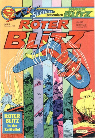 Cover for Roter Blitz (Egmont Ehapa, 1976 series) #12/1982
