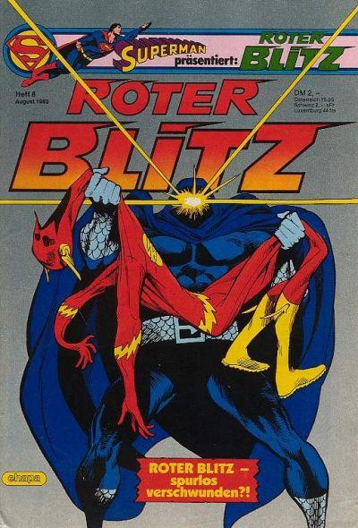 Cover for Roter Blitz (Egmont Ehapa, 1976 series) #8/1983