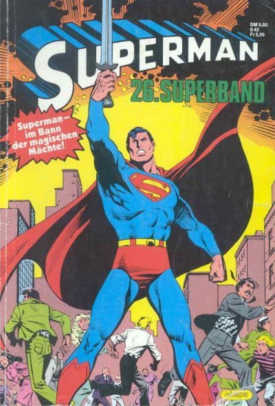 Cover for Superman Superband (Egmont Ehapa, 1973 series) #26