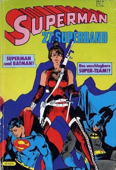 Cover for Superman Superband (Egmont Ehapa, 1973 series) #27