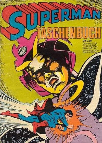 Cover for Superman Taschenbuch (Egmont Ehapa, 1976 series) #11