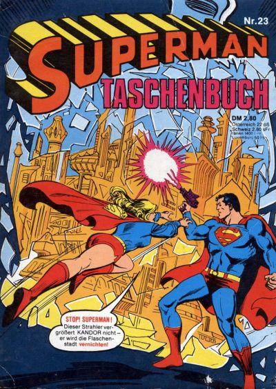 Cover for Superman Taschenbuch (Egmont Ehapa, 1976 series) #23