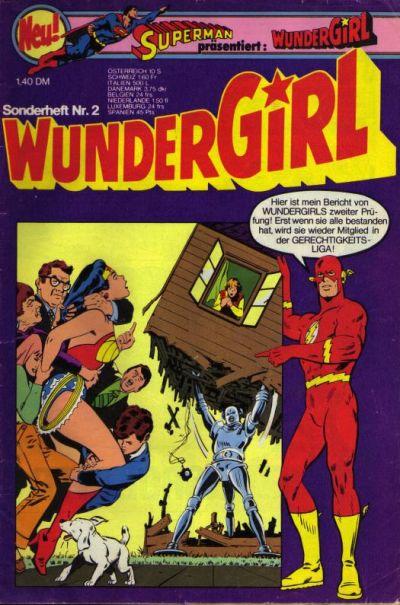 Cover for Wundergirl (Egmont Ehapa, 1976 series) #2