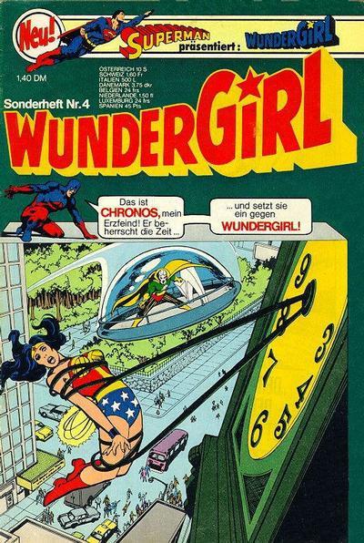 Cover for Wundergirl (Egmont Ehapa, 1976 series) #4