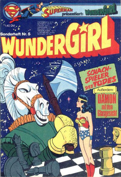 Cover for Wundergirl (Egmont Ehapa, 1976 series) #5