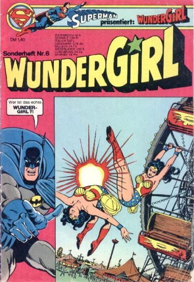 Cover for Wundergirl (Egmont Ehapa, 1976 series) #6