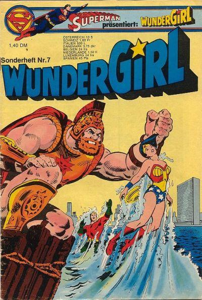 Cover for Wundergirl (Egmont Ehapa, 1976 series) #7