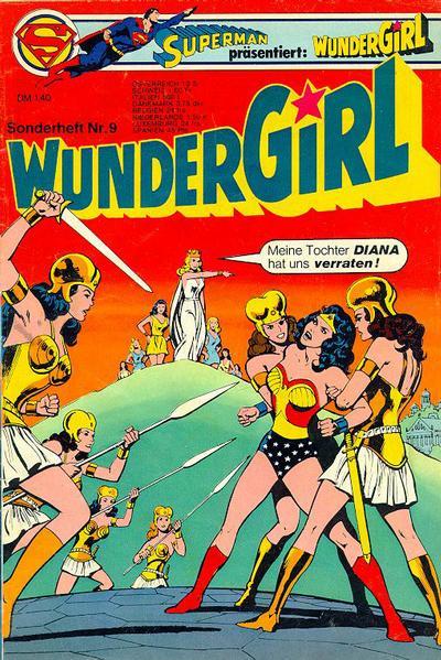 Cover for Wundergirl (Egmont Ehapa, 1976 series) #9