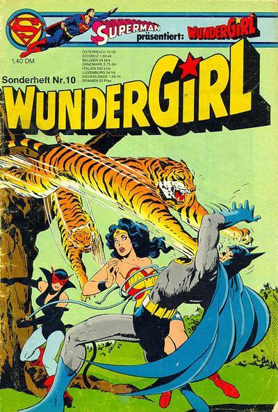 Cover for Wundergirl (Egmont Ehapa, 1976 series) #10
