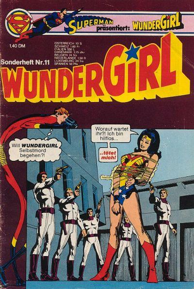 Cover for Wundergirl (Egmont Ehapa, 1976 series) #11