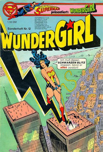 Cover for Wundergirl (Egmont Ehapa, 1976 series) #12