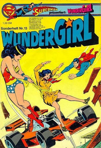 Cover for Wundergirl (Egmont Ehapa, 1976 series) #13