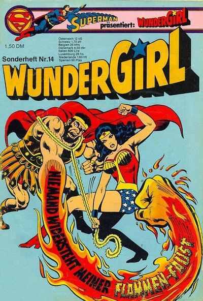 Cover for Wundergirl (Egmont Ehapa, 1976 series) #14